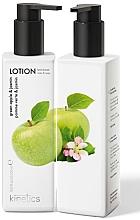 """Parfumuri și produse cosmetice Loțiune nutritivă pentru mâini și corp """"Măr verde și Iasomie"""" - Kinetics Green apple & Jasmine Lotion"""