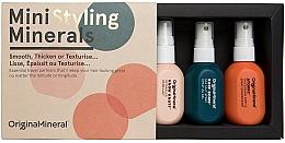 Parfumuri și produse cosmetice Set - Original & Mineral Mini Styling Kit (h/spray/50ml + h/spray/50ml + h/spray/50ml)