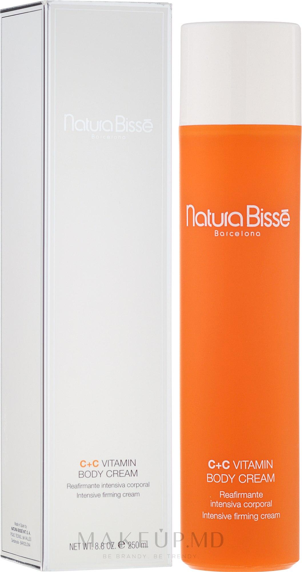 Cremă de corp cu vitamine - Natura Bisse C+C Vitamin Body Cream — Imagine 250 ml