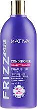 Parfumuri și produse cosmetice Balsam hidratant pentru păr - Kativa Frizz Off Conditioner