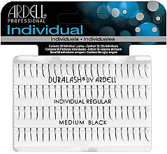 Parfumuri și produse cosmetice Set gene false - Ardell Duralash Individual Regular Medium Black Lashes