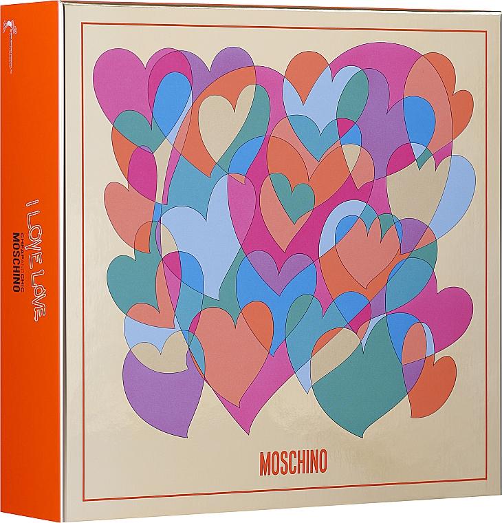 Moschino I Love Love - Set (edt/30ml + b/lot 50ml)