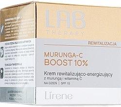 Parfumuri și produse cosmetice Cremă de zi pentru față - Lirene Lab Therapy Revitalization Murunga-C Boost 10% SPF15