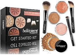 Parfumuri și produse cosmetice Set pentru machiaj - Bellapierre Get Started Kit Deep