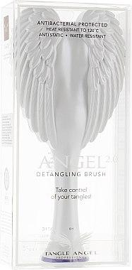 Perie de păr - Tangle Angel 2.0 Detangling Brush White