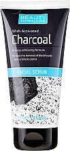 Parfumuri și produse cosmetice Scrub pentru curățarea profundă a pielii feței - Beauty Formulas Charcoal Facial Scrub