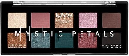 Paletă farduri de ochi - NYX Professional Makeup Mystic Petals Shadow Palette
