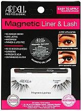 Parfumuri și produse cosmetice Set - Magnetic Lash & Liner 002 Lash Kit (eye/liner/2g + lashes/2pc)
