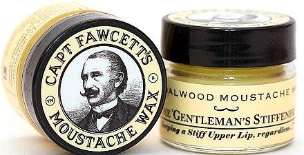 Set - Captain Fawcett Sandalwood (moust/wax/15ml + moustache comb) — Imagine N3