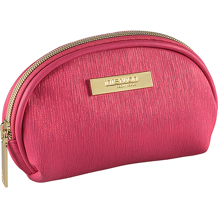 Trusă cosmetică, roz - Inter-Vion Metallic — Imagine N1