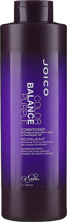 Balsam nuanțator de păr, violet - Joico Color Balance Purple Conditioner