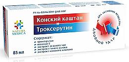 """Parfumuri și produse cosmetice Gel-balsam pentru picioare """"Castan de cal și Troxerutin"""" - Natura Medica"""
