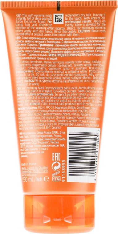 Mască nutritivă de păr - Wella Professionals Enrich Self Warming Treat — Imagine N2