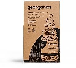"""Parfumuri și produse cosmetice Tablete pentru igiena orală """"Carbon activat"""" - Georganics Natural Toothtablets Activated Charcoal (rezervă)"""