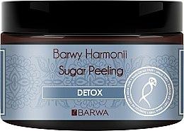 "Parfumuri și produse cosmetice Scrub de zahăr pentru corp ""Detox"" - Barwa Harmony Sugar Peeling Detox"