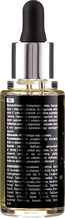 Ulei regenerator cu vitamina E pentru cuticule și unghii - Apis Good Life Regenerating Olive Oil — Imagine N2