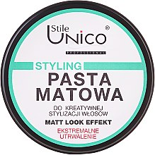 Parfumuri și produse cosmetice Pastă de păr - Tenex Stile Unico Pasta