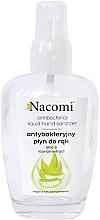 Parfumuri și produse cosmetice Spray antibacterian pentru mâini, în recipient de sticlă - Nacomi Antibacterial Liquid Hand Sanitizer