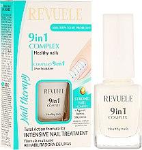 """Parfumuri și produse cosmetice Complex 9 în 1 pentru unghii """"Sănătatea unghiilor"""" - Revuele Nail Therapy"""