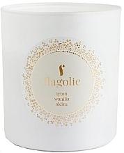"""Parfumuri și produse cosmetice Lumânare parfumată, în borcan """"Tutun, vanilie, piele"""" - Flagolie Soy Candle"""