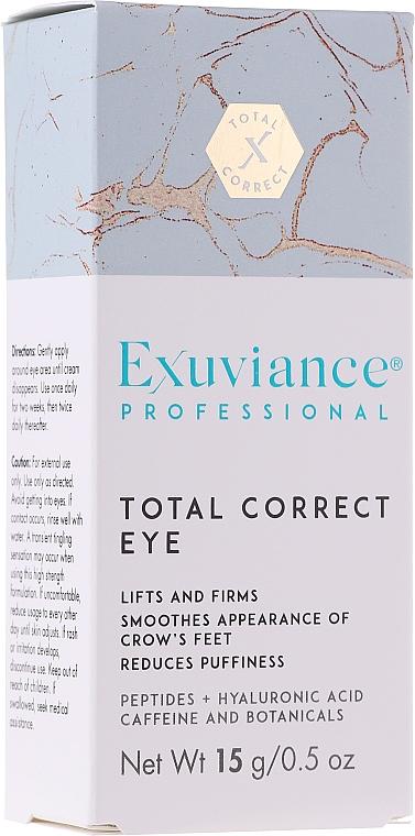 Корректирующий крем для кожи вокруг глаз - Exuviance Professional Total Correct Eye — фото N1