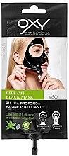 Parfumuri și produse cosmetice Mască de curățare pentru față - Oxy Peel Off Black Mask (mini)
