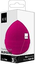 Parfumuri și produse cosmetice Burete de machiaj, roz - Auri Flawless Finish Blending Sponge 3D