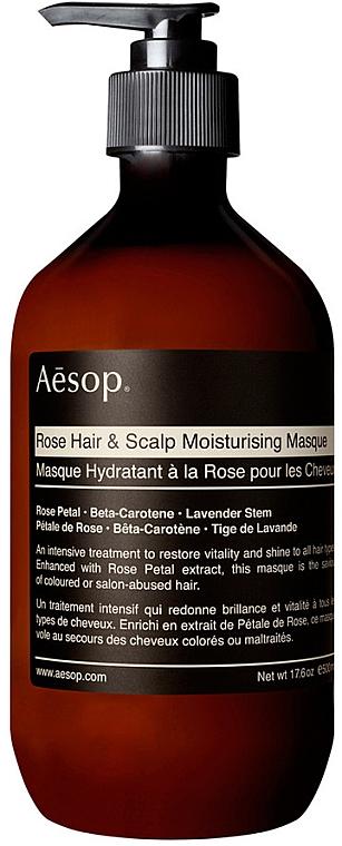 Mască hidratantă pentru păr și scalp - Aesop Rose Hair & Scalp Moisturising Mask