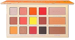 Parfumuri și produse cosmetice Paletă fard de ochi - Moira Oh, My Peelings Palette Pressed Pigments Palette