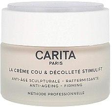 Parfumuri și produse cosmetice Cremă pentru gât și decolteu - Carita La Creme Cou Et Decollete Stimulift