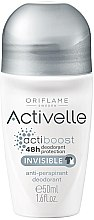 Parfumuri și produse cosmetice Antiperspirant roll-on 48h - Oriflame Activelle Actiboost Invisible