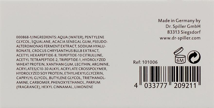 Омолаживающая сыворотка с эффектом лифтинга - Dr. Spiller Celltresor Ultimate Peptide Serum — фото N3