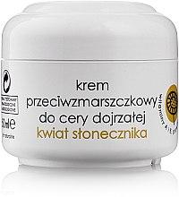 """Parfumuri și produse cosmetice Cremă antirid """"Floarea-soarelui"""" - Ziaja Anti-Wrinkle Cream Flower Sunflower Mature Skin"""