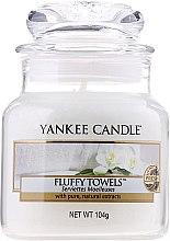 """Parfumuri și produse cosmetice Lumânare parfumată """"Prosop pufos"""" - Yankee Candle Fluffy Towels"""