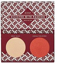 Parfumuri și produse cosmetice Iluminator pentru față - Zoeva Spice Of Life Highlighting palette