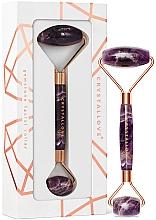 Parfumuri și produse cosmetice Roller de ametist pentru masaj facial - Crystallove Amethyst roller