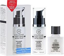 Parfumuri și produse cosmetice Set - Collistar Uomo Attivi Puri Collageno Anti-Arrugas Regenerante