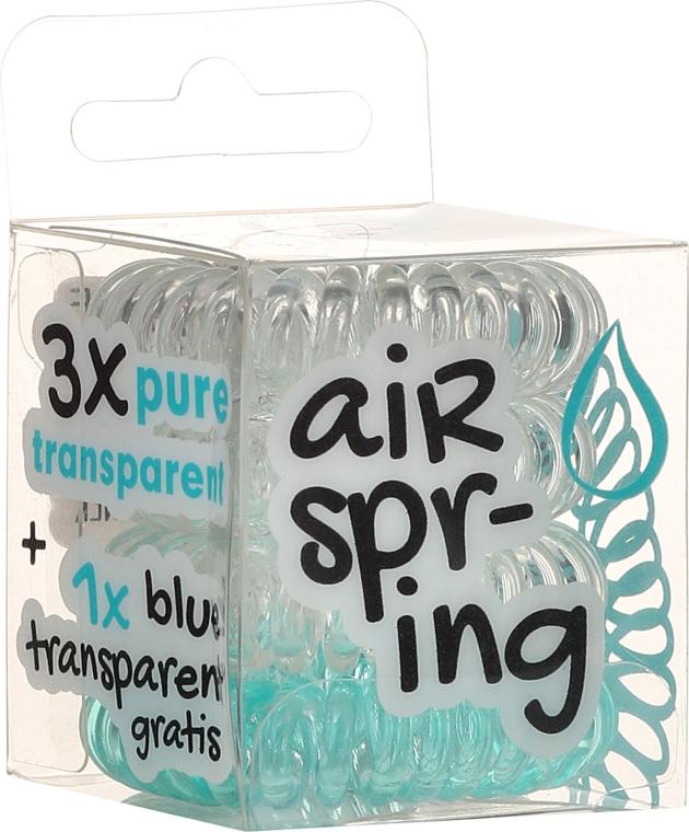 Elastice de păr. 4 bucăți - Hair Springs