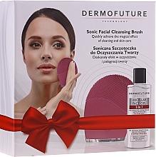 Parfumuri și produse cosmetice Set - DermoFuture (f/gel/150 ml + brush/1pcs)