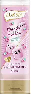 """Cremă-gel de duș """"Marshmallow"""" - Luksja Marshmallow Shower Gel"""