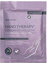 Parfumuri și produse cosmetice Mască pentru mâini - BeautyPro Hand Therapy Collagen Infused Glove
