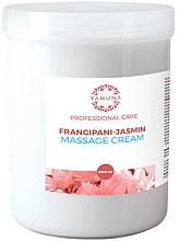 """Parfumuri și produse cosmetice Cremă pentru masaj """"Frangipani și iasomie"""" - Yamuna Massage Cream"""
