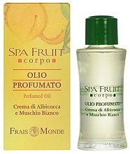 Parfumuri și produse cosmetice Frais Monde Spa Fruit Apricot And White Musk Perfumed Oil - Ulei parfumat