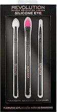 Parfumuri și produse cosmetice Set Pensule pentru machiaj din silicon - Makeup Revolution Silicone Eye Set