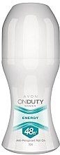 Parfumuri și produse cosmetice Deodorant-Antiperspirant - Avon On Duty Energy 48H Anti-persrirant
