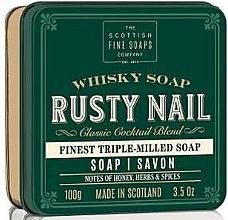 "Parfumuri și produse cosmetice Săpun ""Rusty Nail"" - Scottish Fine Soaps Rusty Nail Sports Soap In A Tin"