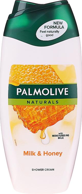 """Gel-cremă de duș """"Lapte și miere"""" - Palmolive Naturals"""