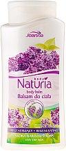 Parfumuri și produse cosmetice Balsam de corp cu extract de liliac - Joanna Naturia Body Balm