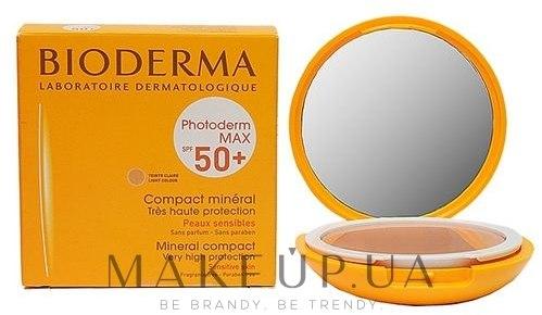 Pudră minerală ten sensibil, SPF 50+ - Bioderma Photoderm Max SPF50+ Mineral Compact — Imagine Light