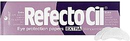 Parfumuri și produse cosmetice Petale din hârtie sub ochi (80 buc) - RefectoCil Eye Protection Papers Extra